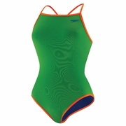 Speedo Endurance Lite Flipturns Reversible Solid Extreme Back Swimsuit - Women's