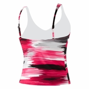 Speedo Endurance Plus Brushed Stripe Comfort Strap Tankini - Women's