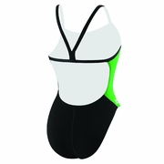 Speedo Endurance Plus Sonic Splice Y-Back Swimsuit - Girl's