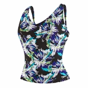 Speedo Endurance Plus Watercolor Floral Comfort Strap Tankini - Women's