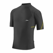 Speedo Fitness Short Sleeve Rash Guard - Men's