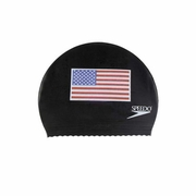 Speedo Flag Latex Swim Cap