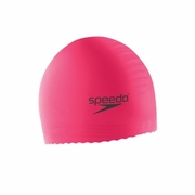 Speedo Jr Solid Latex Swim Cap - Kid's