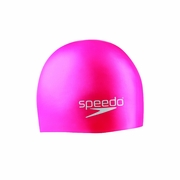 Speedo Jr Solid Silicone Swim Cap - Kid's