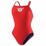 Speedo Lifeguard Solid Fly Back Swimsuit - Girl's