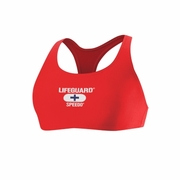 Speedo Lifeguard Solid Techno Back Swimsuit Top - Women's