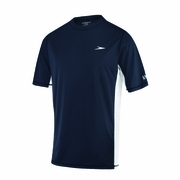 Speedo Longview Short Sleeve Swim Tee Rash Guard - Men's