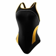 Speedo Mercury Spliced Drop Back Swimsuit - Kid's