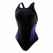 Speedo Mercury Spliced Drop Back Swimsuit - Women's