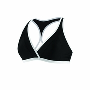 Speedo Mesh Cross Over Swimsuit Top - Women's