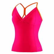 Speedo Mesh Panel Tankini - Women's