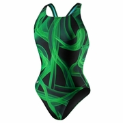 Speedo Mist Recordbreaker Back Swimsuit - Girl's
