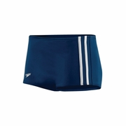 Speedo Nylon Stripe Square Leg Swimsuit - Men's
