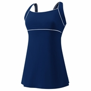 Speedo Piped Sheath Swim Dress - Women's
