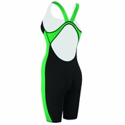 Speedo Powerplus Kneeskin Swimsuit - Girl's