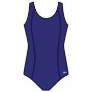 Speedo Princess Seam Conservative Ultra Back Plus Size Swimsuit - Women's