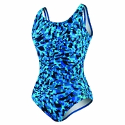 Speedo Print Contour Back Swimsuit - Women's