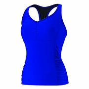 Speedo Shirred Racer Back Tankini - Women's