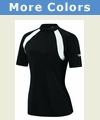 Speedo Short Sleeve Contrast Rash Guard - Women's