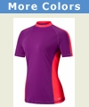 Speedo Short Sleeve Rash Guard - Women's