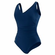 Speedo Side Shirred Tank Swimsuit - Women's