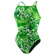 Speedo Snake Bit Splash Back Swimsuit - Girl's