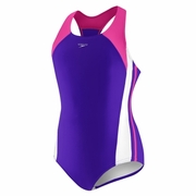Speedo Solid Infinity Splice Swimsuit - Girl's