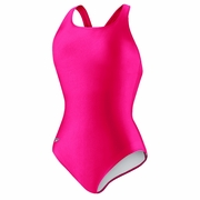 Speedo Solid Moderate Long Ultra Back Swimsuit - Women's