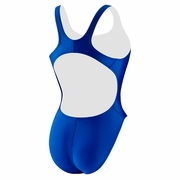 Speedo Solid Piped Pulse Back Swimsuit - Women's