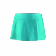 Speedo Solid Zip Pocket Swim Skirt - Women's