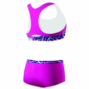 Speedo Summer Love Boyshort 2-Piece Swimsuit - Girl's