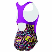 Speedo Summer Love Keyhole Splice Swimsuit - Girl's