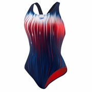 Speedo Team Power Sprint Recordbreaker Back Swimsuit - Women's
