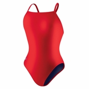 Speedo Xtra Life Lycra Solid Fly Back Swimsuit - Girl's