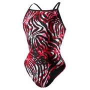 Speedo Zebra Haze Fly Back Swimsuit - Women's