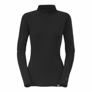 The North Face Expedition Zip Neck Hangar Grey Long Sleeve Baselayer - Women's