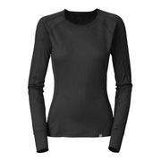 The North Face Light Crew Neck Hangar Grey Long Sleeve Baselayer - Women's