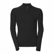 The North Face Light Zip Neck Hangar Grey Long Sleeve Baselayer - Men's