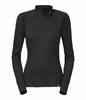 The North Face Light Zip Neck Hangar Grey Long Sleeve Baselayer - Women's