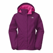 The North Face Resolve Reflective Rain Jacket - Girl's