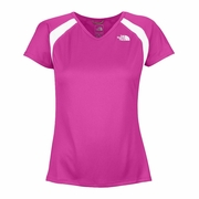 The North Face Short Sleeve Reflex V-Neck Running Top - Women's