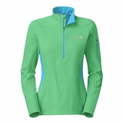 The North Face TKA 80 1/4 Zip Running Top - Women's