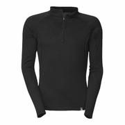 The North Face Warm Zip Neck Hangar Grey Long Sleeve Baselayer - Men's