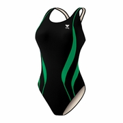 TYR Alliance Team Female Splice Maxback Swimsuit - Women's