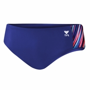 TYR Aurora Splice Racer Swim Brief - Men's