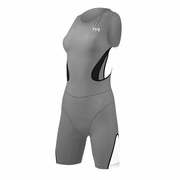 TYR Carbon Zipper Back Short John Triathlon Suit - Women's