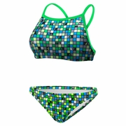 TYR Check Diamondfit Workout Bikini Swimsuit - Women's
