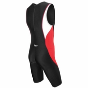TYR Competitor Back Zipper Triathlon Suit - Men's
