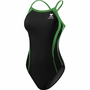TYR Durafast Alliance Splice Diamondfit Swimsuit - Girl's