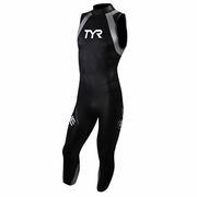 TYR Hurricane Category 1 Sleeveless Triathlon Wetsuit - Men's